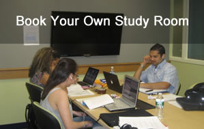 Book your own Group Study Room