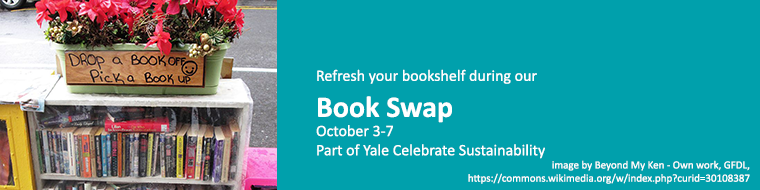 Book swap, October 3-7
