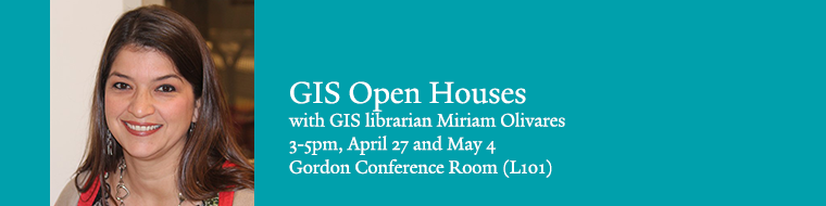 GIS open houses April 27 and May 4