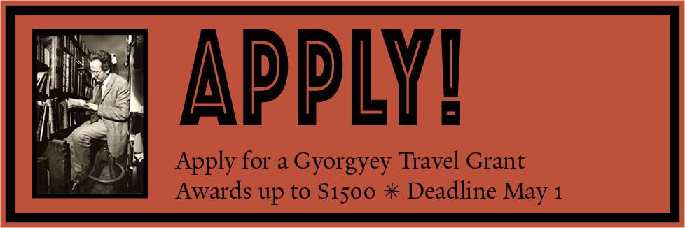 Apply for the Gyorgyey Travel Grant