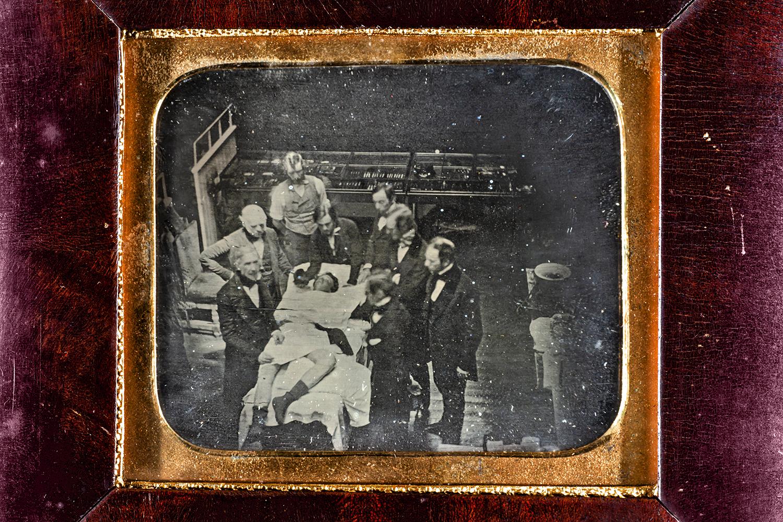 Image of 1847 daguerreotype