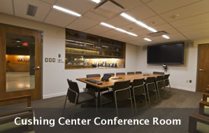 Image of the Conference Room in the Cushing Center
