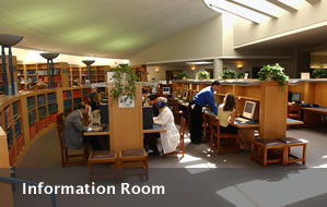 Information Room in Medical Library