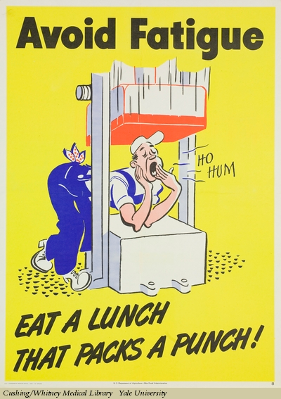 exhibit food and nutrition posters cushing whitney medical library