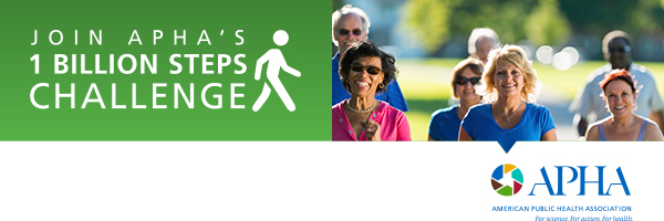 #1BillionSteps logo from the American Public Health Association