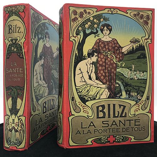 """Image of two volumes of """"La Santé à la Portée de Tous"""""""