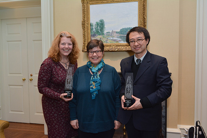 Staff receive Lorimer award