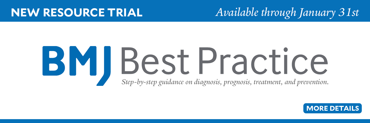 BMJ Best Practice Resource Trial