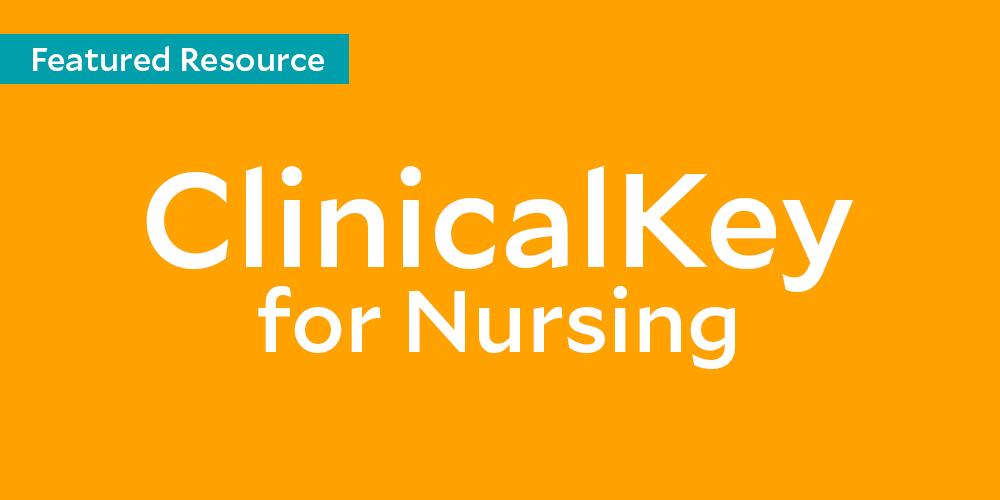 ClinicalKey for Nursing