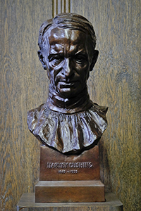 bust of Dr Cushing