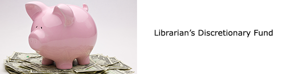 Librarian's Discretionary Fund