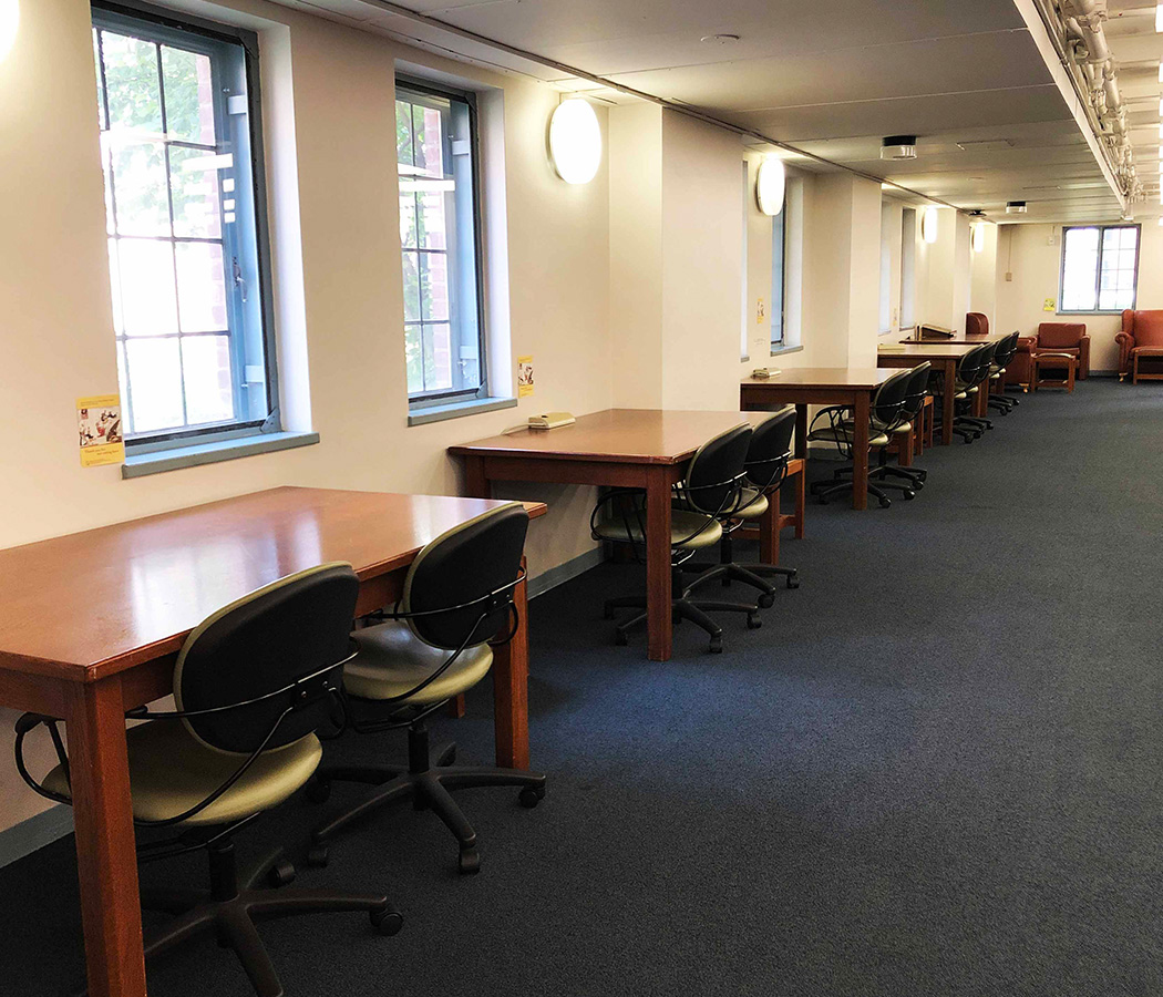 Photo of e-level study space