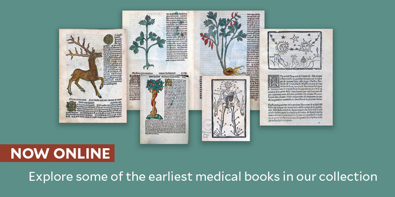 Explore the earliest books in our collection