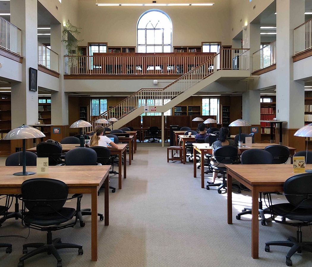 Photo of Morse Reading Room seating