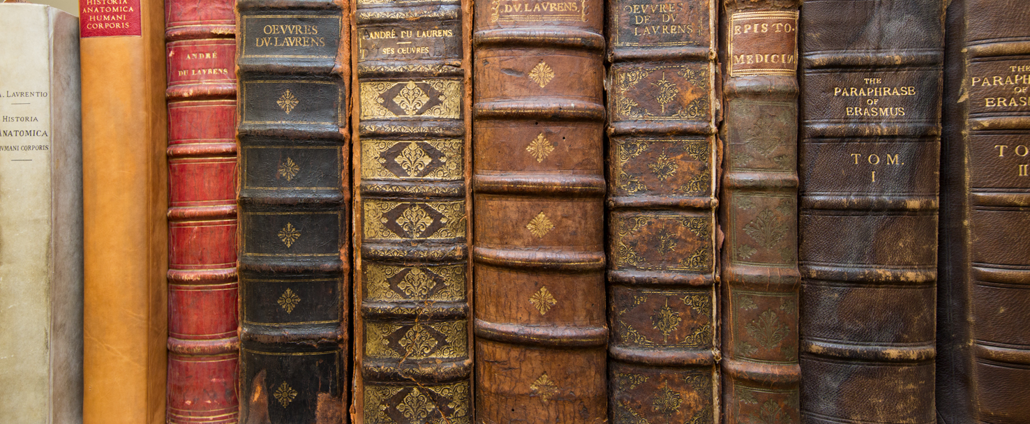 rare books from the historical collection
