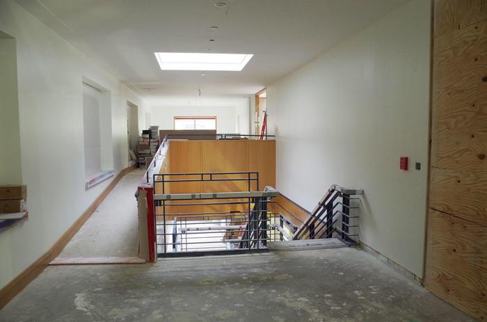 Hallway to cushing center