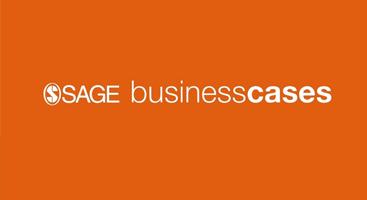 image sage business cases logo on orange background