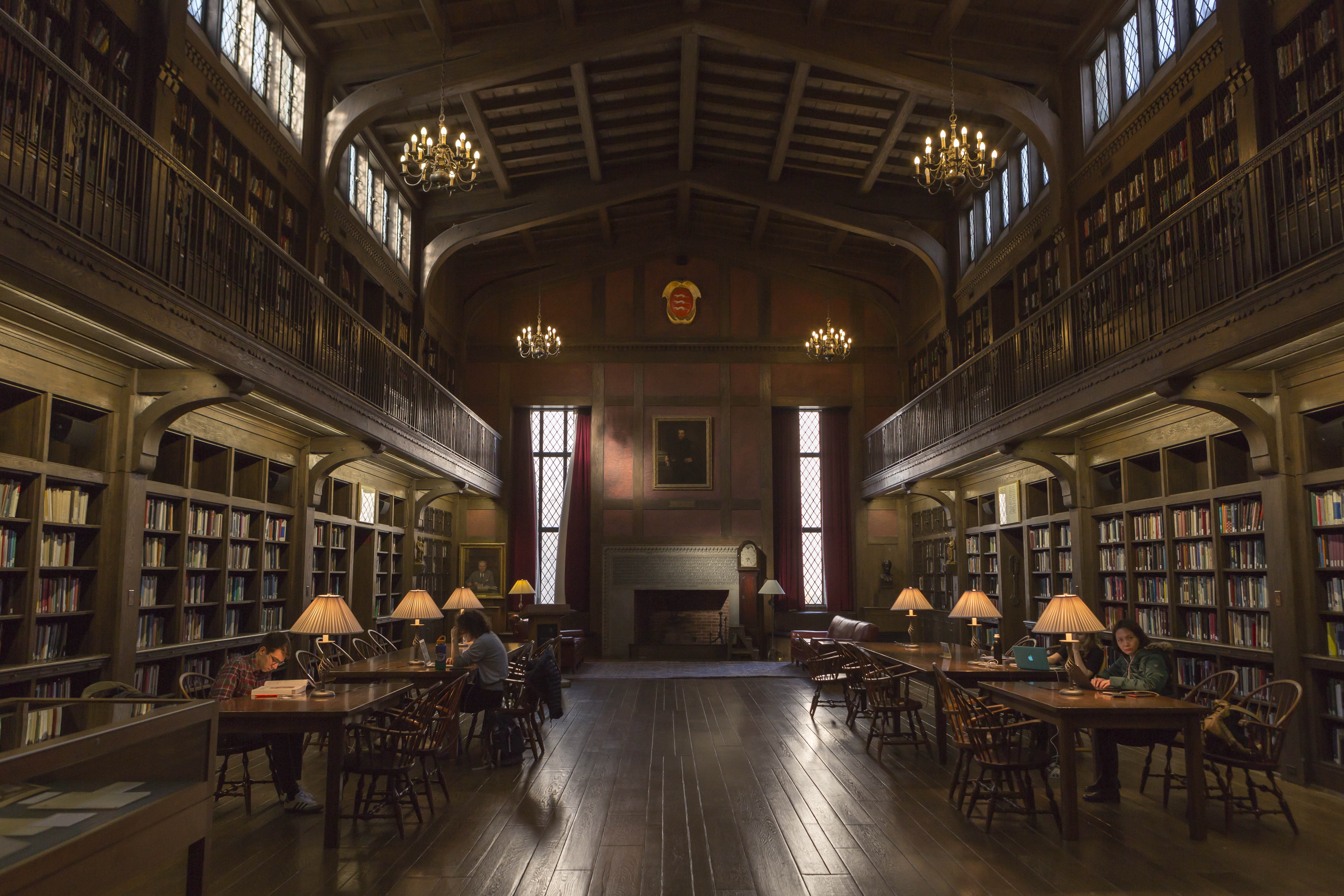 historical library reading room