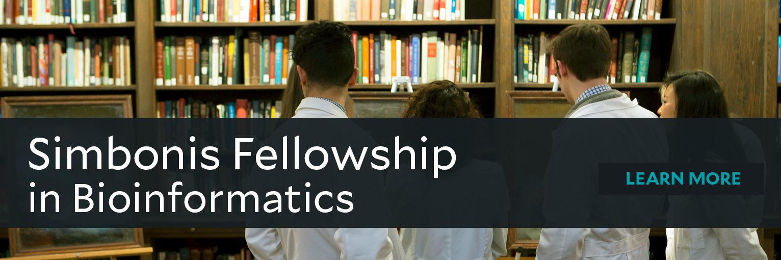 Simbonis Fellowship in Bioinformatics
