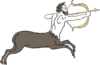 Image of a half-man, half-horse.