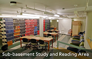 Image of the Subbasement Study and Reading Area